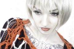 Alishia blonde bob orange