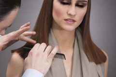 Ross Charles Working on Loreal Colour Trophy 1