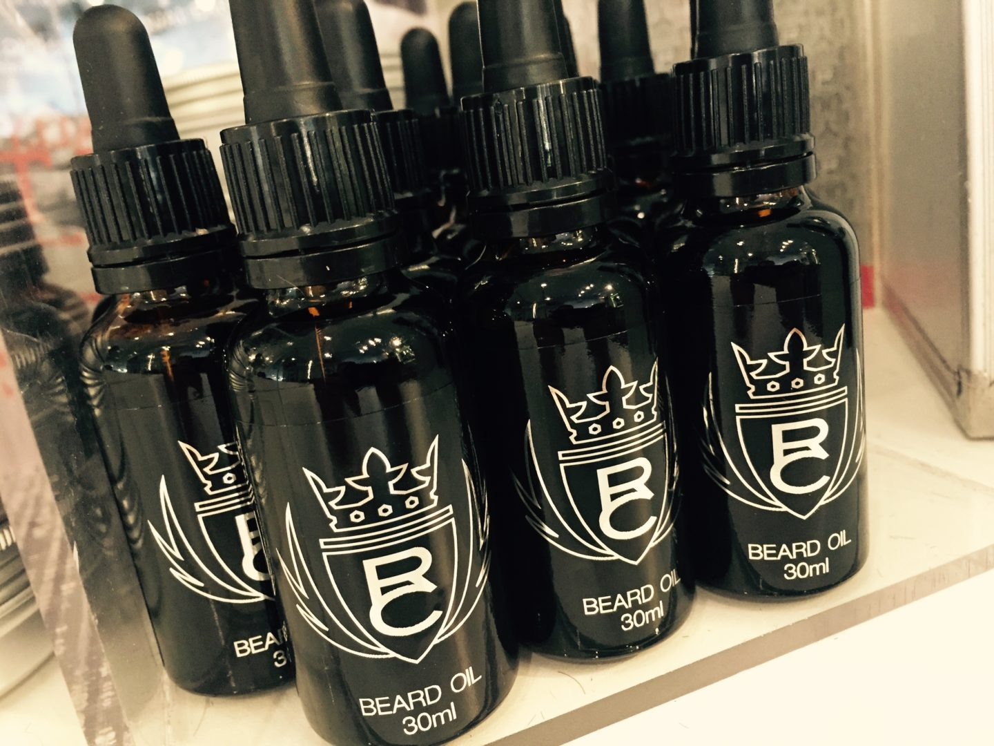 rc beard oil 30ml bleu noir ross charles hairdressers in york. Black Bedroom Furniture Sets. Home Design Ideas