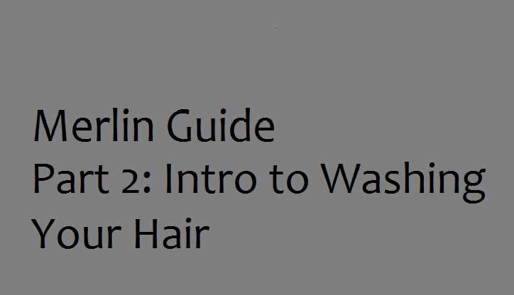 Intro to Washing Your Hair graphic